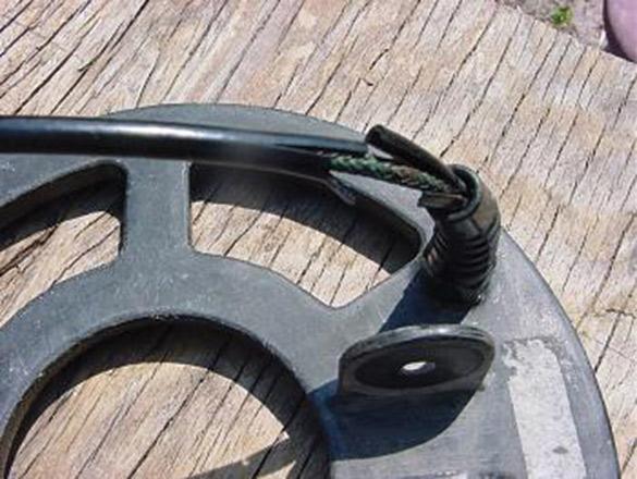 cable de disque de detecteur denudée
