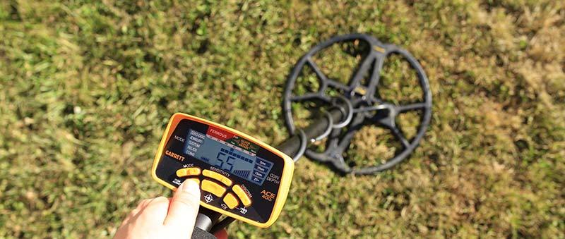 detecteur de metaux ace 250 avec disque ultimate