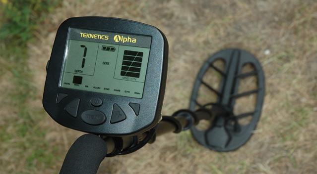 detecteur de metaux technetics alpha 2000