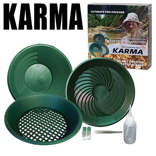la marque karma propose le meilleur kit d'orpaillage en rapport qualité prix