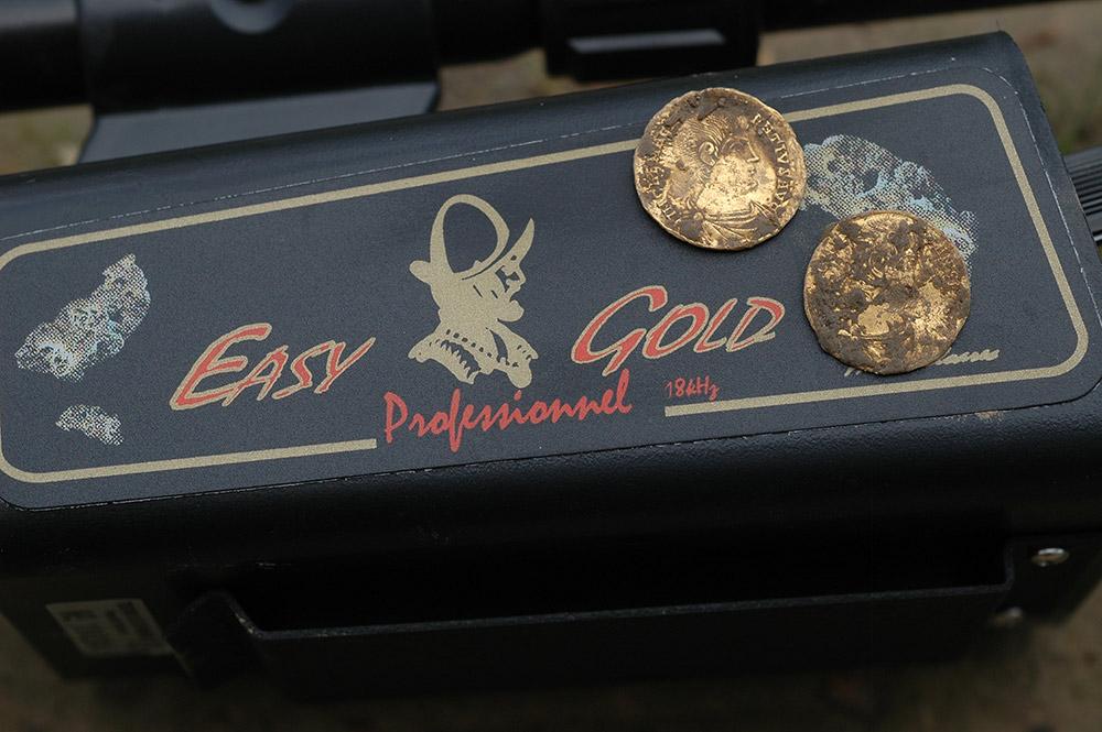 Vente détecteur Tesoro Easy Gold