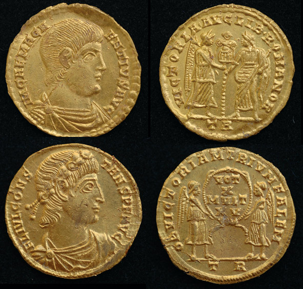 solidus romain tesoro redoutable