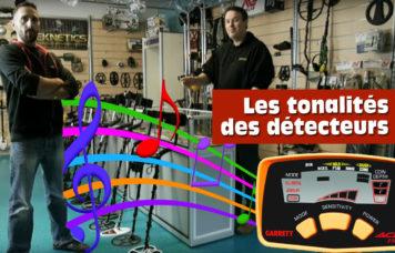 Tonalités des détecteurs de métaux