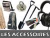 accessoires pour détecteurs de métaux