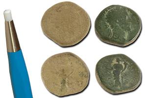 comment nettoyer des monnaies trouvées avec un détecteur