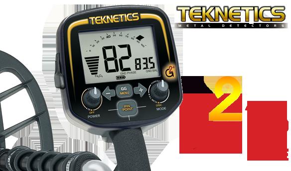 test du détecteur de métaux teknetics g2 upg