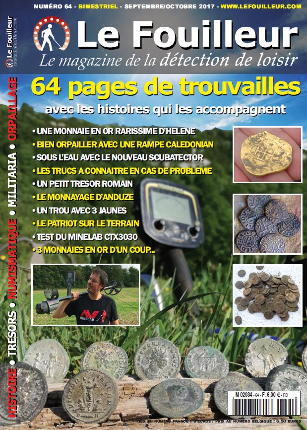 magazine detection de metaux le fouilleur 64