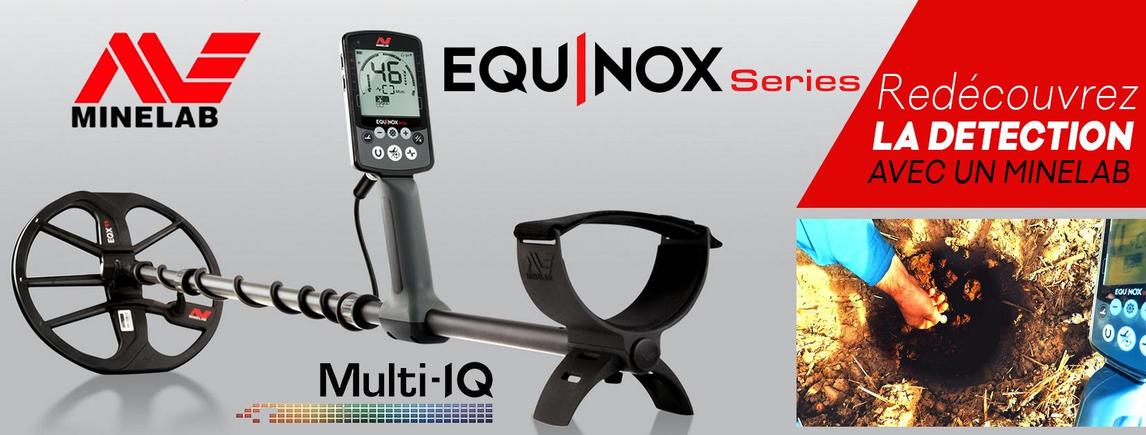 vente detecteur minelab equinox 800