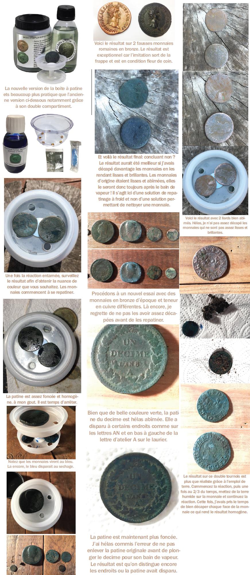 repatiner des monnaies à froid