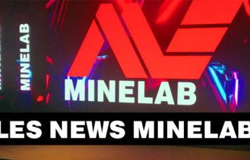 bannière des nouveautés Minelab