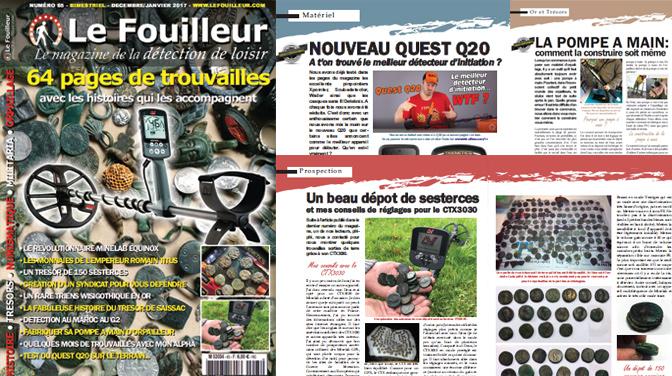le fouilleur 65 magazine