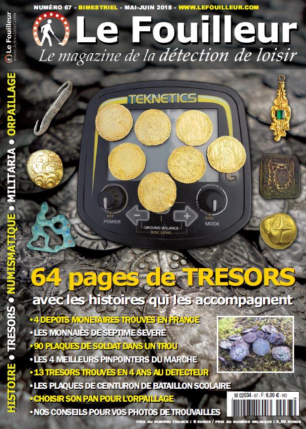 magazine de detection le fouilleur 67