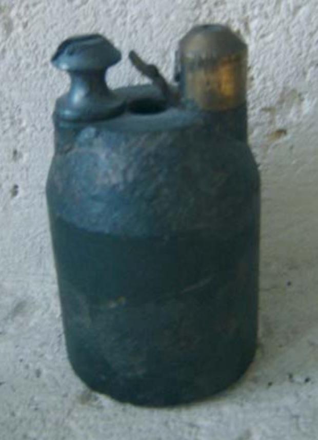 la grenade Vivien bessieres en militaria