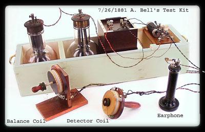 premier detecteur de metaux utilisé en medecine pour deloger les blessures de guerre