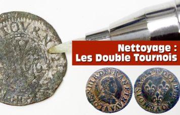 comment nettoyer une monnaie en cuivre type tournois