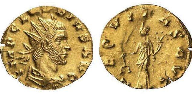 Aureus de Claude II