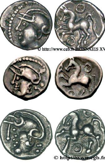 Deniers à la tête casquée (80-50 avant J.-C.)