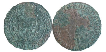 nettoyage d'une monnaie royale en bronze a la dremel