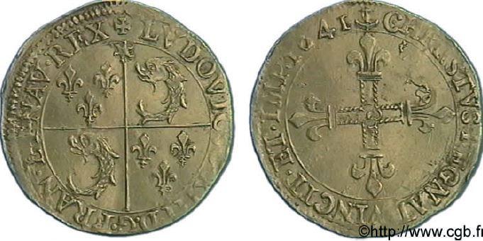 Ecu d'or du Dauphiné sous LOUIS XIII
