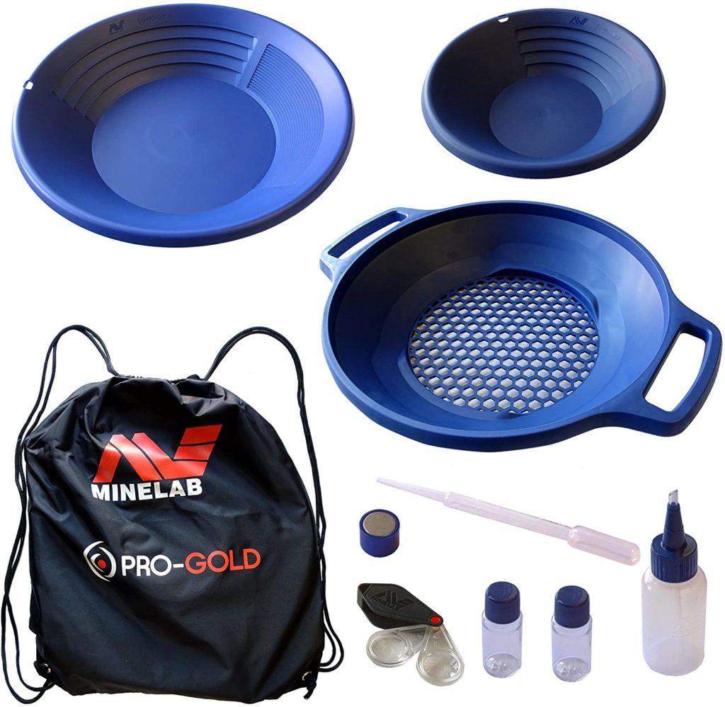 kit pro-gold de minelab pan