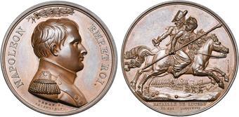 Médaille commémorant la Bataille de Lützen