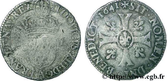 Quinzain sous LOUIS XIII