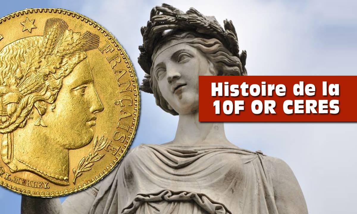 Les monnaies de 10f or avec un détecteur de metaux