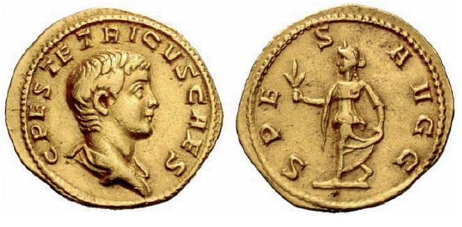 Aureus de Tétricus II