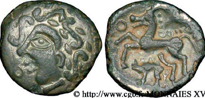 Aulerques Eburovices Bronze au cheval et au sanglier (60-50 avant J.-C.)