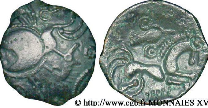 Hémistatère au sanglier en bronze (60-50 avant J.-C.)