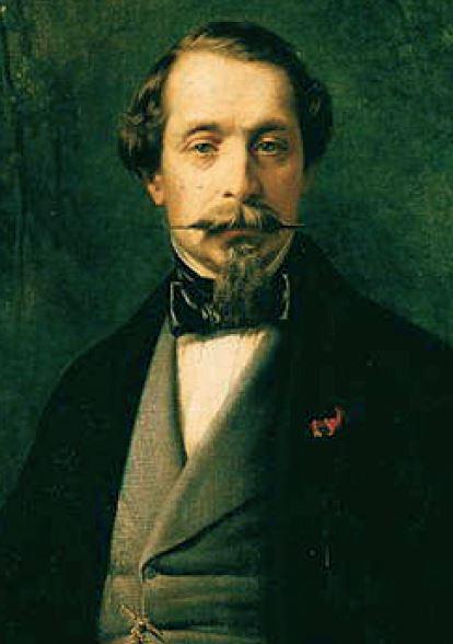 Napoléon III en 1857, peint par Franz Xaver Winterhalter