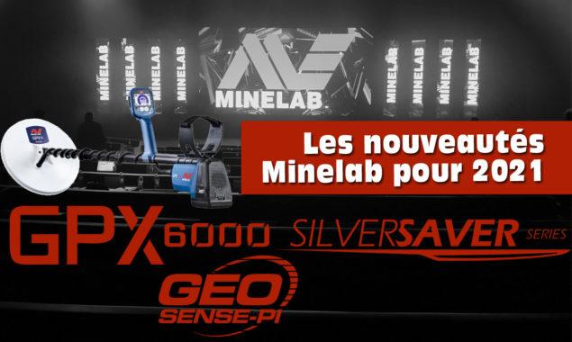 nouveaux détecteurs Minelab