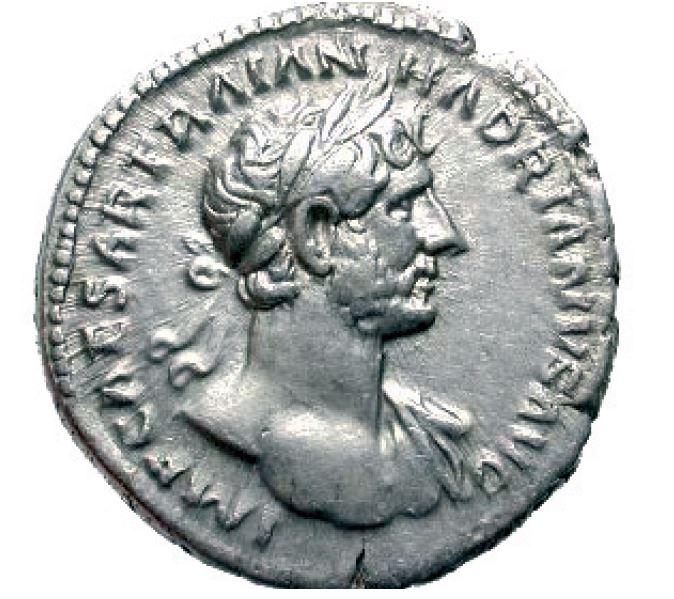 monnaie romaine Voici le même avers sur un autre denier